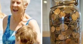 Oma, wenn du in den Himmel kommst, schick mir viel Geld: Tage später findet die Enkelin überall im Haus versteckte Münzen