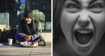 Ihre Tochter beleidigt einen Obdachlosen: Zur Strafe zwingt sie sie, in einem Zelt zu schlafen