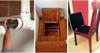 Crea scomparti segreti in casa per tutto ciò che vuoi riporre o custodire al sicuro