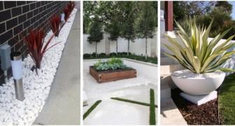 Ciottoli bianchi di fiume: scopri come usarli per decorare con eleganza il tuo giardino