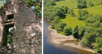 Schottland, ganzes 'Spukdorf' mit Privatstrand zu verkaufen: kostet so viel wie eine Wohnung