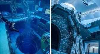 In Dubai wird das tiefste Tauchbecken der Welt eröffnet - mit einer echten Unterwasserstadt