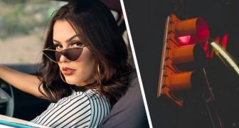 Es dejada por otra mujer pero decide vengarse: pasa el semáforo en rojo 49 veces con el auto del ex