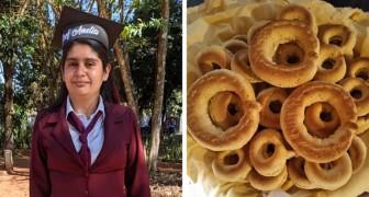 Joven madre vendía pan para pagarse los estudios: hoy cumplió su sueño de convertirse en maestra