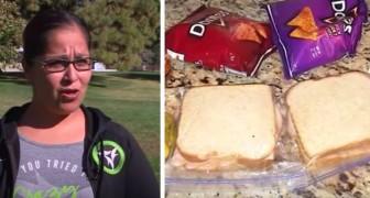 Il figlio le chiede sempre di preparare 2 panini per pranzo, poi scopre il motivo: sta aiutando un bimbo povero