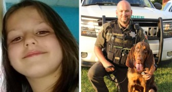 Questo cane poliziotto ha salvato una bimba di 6 anni che era stata rapita, grazie al suo incredibile fiuto