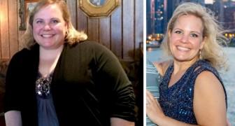 Vrouw met overgewicht besluit bijna 50 kg af te vallen na een uitnodiging voor een schoolreünie