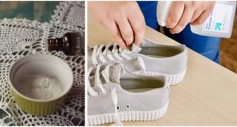 Pour éviter les mauvaises odeurs des chaussures, utilisez ces déodorants DIY