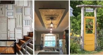 Da porte vecchie a decorazioni per casa e giardino: lasciati ispirare da tante idee creative