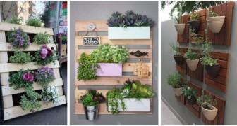 Jardinières verticales en bois : découvrez comment les réaliser sur mesure avec des palettes