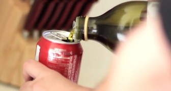 Pour oil in a can: this life hack will light you up !