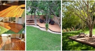 Pedane e pavimenti di legno: usale per arredare con gusto il giardino e creare splendide aree relax