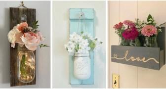 Le pareti di casa ti sembrano un po' spoglie? Usa i barattoli di vetro in modo creativo per decorarle