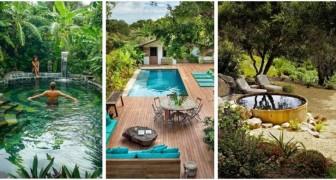 Piscina in giardino: le idee migliori per allestire angoli da sogno per tutti i gusti