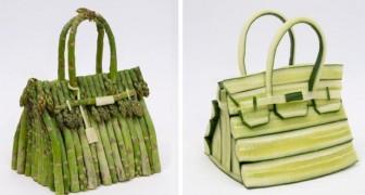 Hermès svela le borse realizzate con verdure: zucchine e asparagi diventano prodotti di lusso