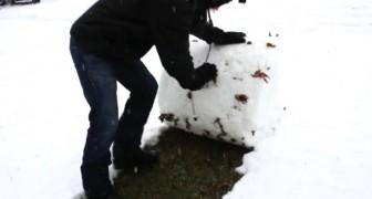 O truque que este cara ensina vai ajudar quem sofre com a neve