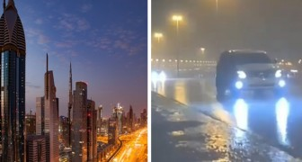 Dubai crea la sua pioggia artificiale: con i droni contrasta le alte temperature