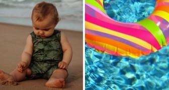 Einjähriges Mädchen verirrt sich auf dem Meer und wird eineinhalb Kilometer von der Küste entfernt auf ihrem aufblasbaren Schwimmring gefunden