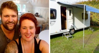 Coppia vive a bordo di un minibus che consuma soltanto 10 £ a settimana: una vita all'insegna del risparmio