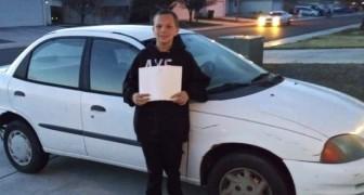 Un ragazzo di 13 anni dà in cambio la sua Xbox per una macchina da regalare alla madre