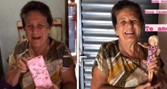 Kleinkind geeft oma Barbie cadeau voor 76ste verjaardag en laat oma's jeugddroom werkelijkheid worden