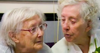 Deze tweeling is 101 geworden en ze bezoeken elkaar elke week ook al wonen ze ver uit elkaar