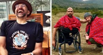 """Er hat keine Beine, hat aber den Kilimandscharo mit der alleinigen Kraft seiner Arme erklommen: Für ihn """"ist nichts unmöglich"""""""