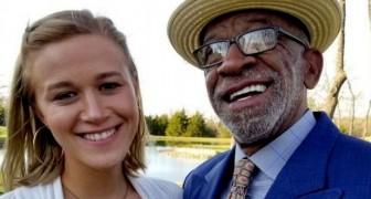Você só está com ele por dinheiro: esta jovem de 24 anos defende seu caso de amor com um homem de 68 anos