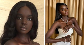 This 25-year-old young model is so beautiful that she has been nicknamed the Black Barbie