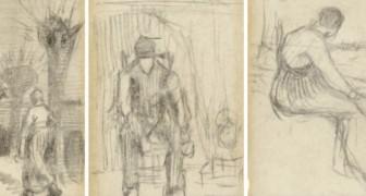 Dei ricercatori sfogliano un vecchio romanzo e trovano un segnalibro disegnato da Van Gogh