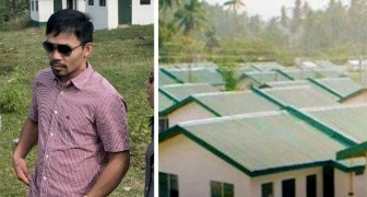 Champion boxer builds 1000 houses and gives them to his less fortunate fellow citizens