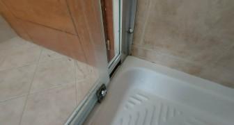Prepara un detersivo anti goccia per il vetro della doccia usando l'amido di mais