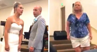 My son is perfect!: Mother-in-law unleashes fury on her daughter-in-law when the couple are exchanging wedding rings