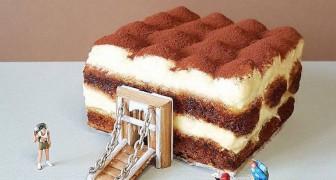 Un pasticcere trasforma torte e dessert in fantasiosi mondi popolati da minuscoli personaggi