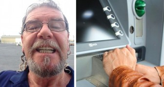 Man ziet 500 dollar zitten in de geldautomaat en geeft het terug. Een 92-jarige wilde haar huur ermee betalen