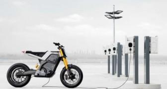 Concept-E: un'azienda presenta il prototipo di una supermoto elettrica