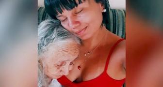 """""""Du bist wie eine Tochter für mich"""": die bewegenden Worte der Enkelin, die sich um ihre an Alzheimer leidende Großmutter kümmert"""
