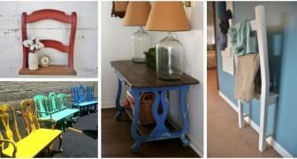 Profitez de ces inspirations pleines de fantaisie pour transformer les vieilles chaises abîmées en accessoires design originaux