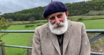 Deze 84-jarige boer is dankzij zijn wijze en lieve stem een beroemdheid op YouTube geworden