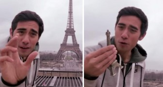 Look what this guy does with the Eiffel tower. Genius !