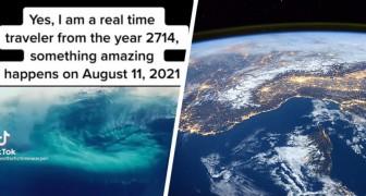 Alieni sulla Terra ad agosto 2021: la teoria di un uomo che dice di aver viaggiato nel tempo