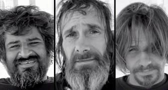 Invitano dei senzatetto per un taglio di capelli: la loro reazione non ha prezzo