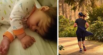 Mamma va a correre e lascia suo figlio in casa da solo a dormire, il marito la definisce un'irresponsabile