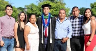 Si laurea e ritorna sui campi dove i genitori hanno lavorato una vita intera per pagargli gli studi