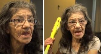 Dief komt het huis binnen van een 67-jarige vrouw, maar ze heeft een zwarte band in vechtsporten en slaat hem knock-out