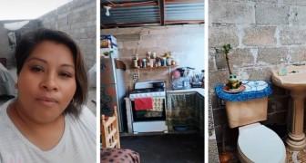 """""""Lelijke huizen bestaan niet"""": vrouw toont trots het eenvoudige huis waarin ze woont"""
