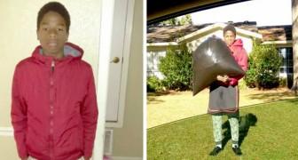 Sospeso dalla scuola, la mamma lo punisce facendogli buttare la spazzatura e tagliare il prato dei vicini