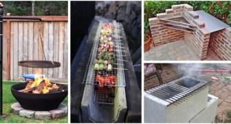 Grillades dans le jardin : réalisez votre barbecue avec le DIY, même si c'est seulement une solution temporaire