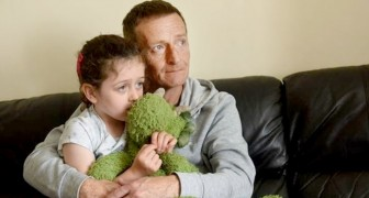 Alleenstaande vader moet besparen op de verwarming om zijn 5-jarige dochter te voeden