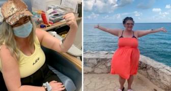 Mujer se cura del cáncer viajando por el mundo después que los médicos le habían dado un año de vida